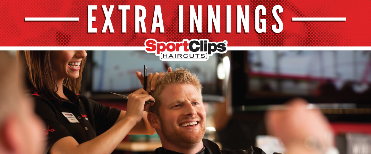 The Sport Clips Haircuts of Kenowa Center Extra Innings Offerings